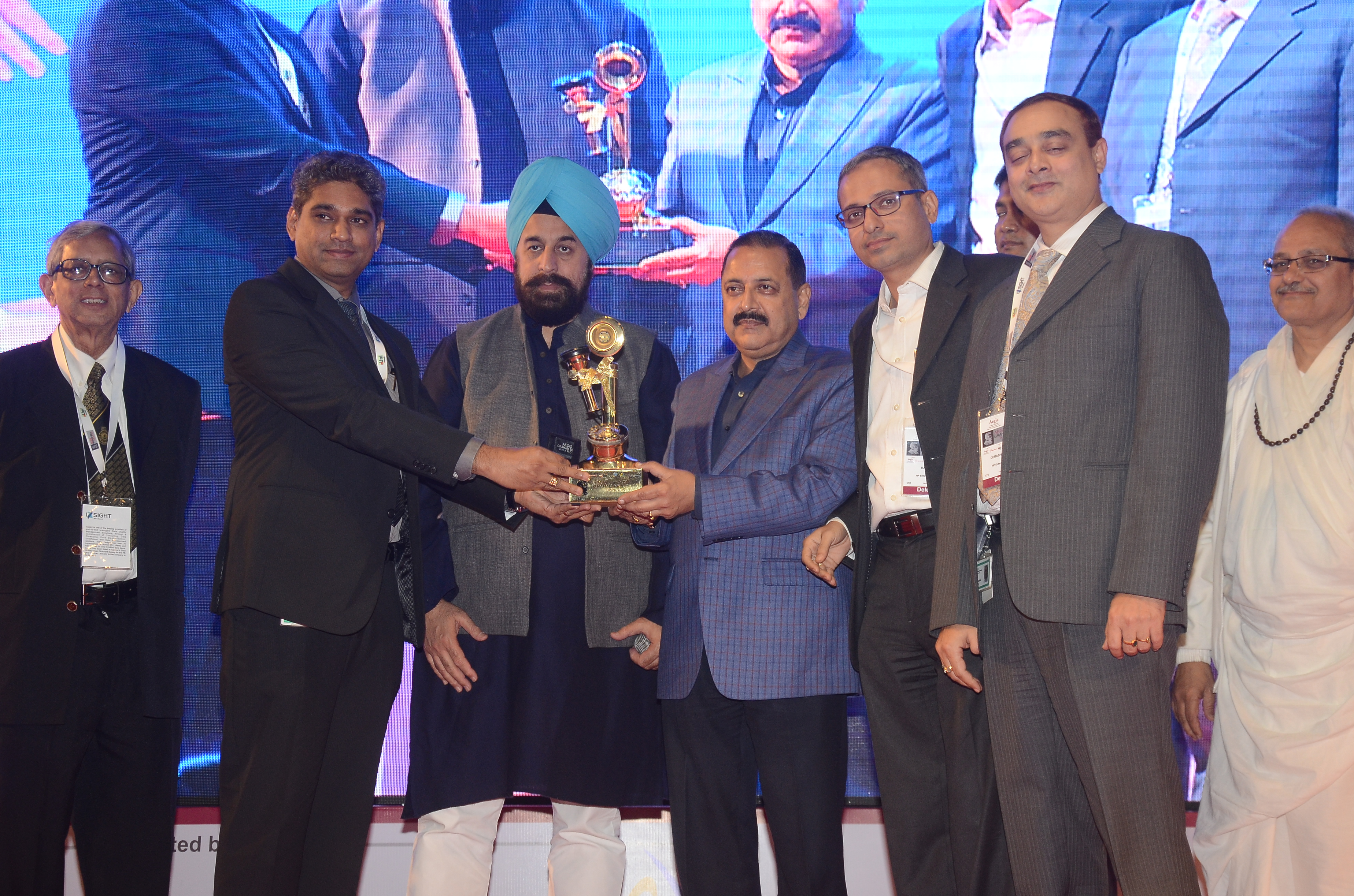 HP Enterprise - Digital India winner 2015