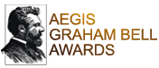 Aegis Graham Bell Awards Mobile Retina Logo