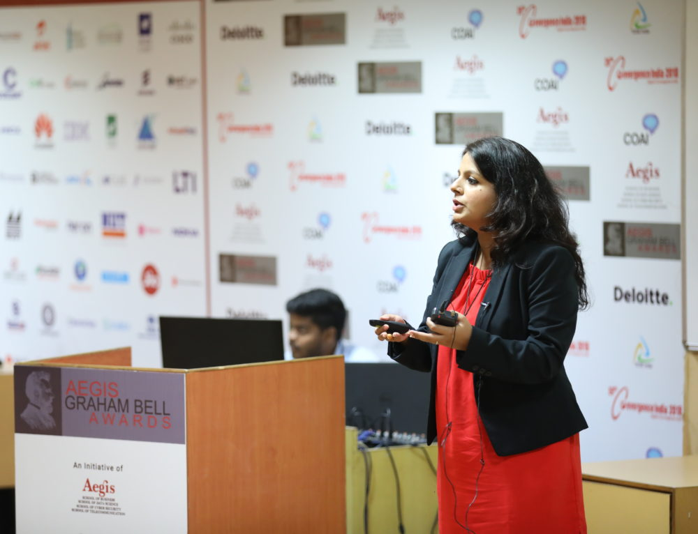 IBM presents its innovation at Aegis Graham Bell Award Jury Round Day 6