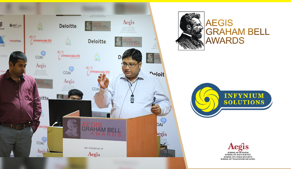 Infynium presents innovation at the Aegis Graham Bell Award Jury Round Day 6