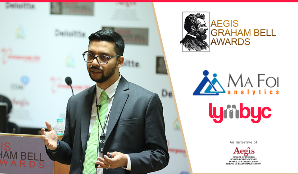 Lymbyc presents its innovation at the Aegis Graham Bell ...