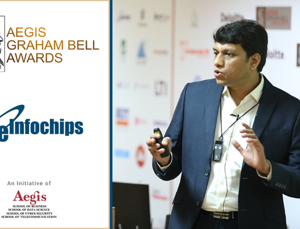 eInfochips presents its innovation at the Aegis Graham Bell Award Jury Round Day 6