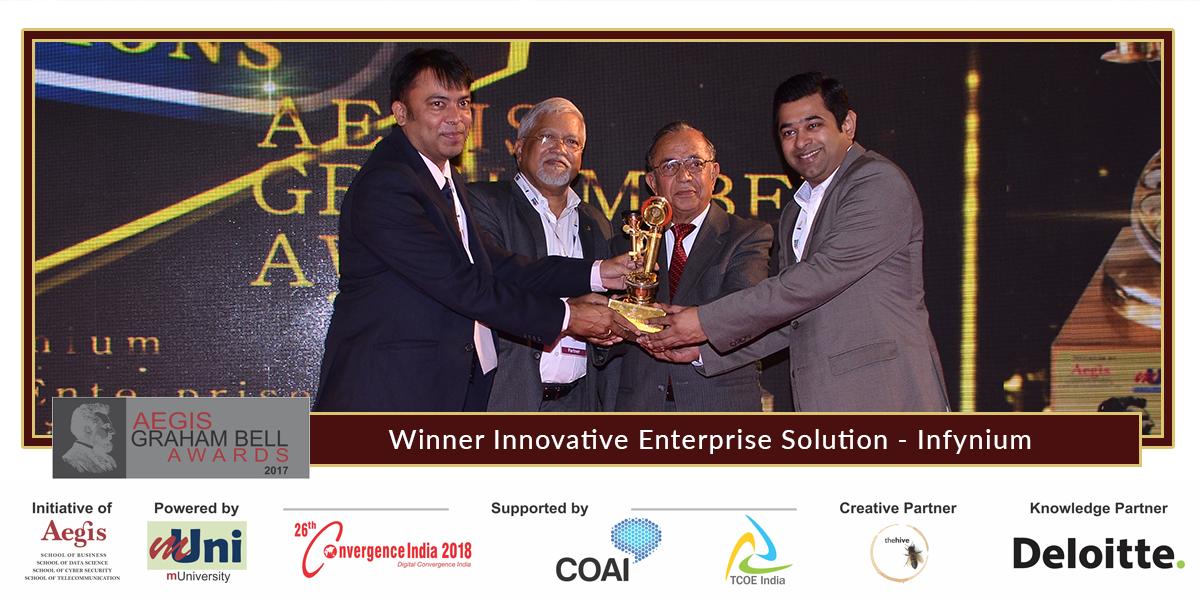 """Infynium Announced as Winner in """"Innovative Enterprise ..."""