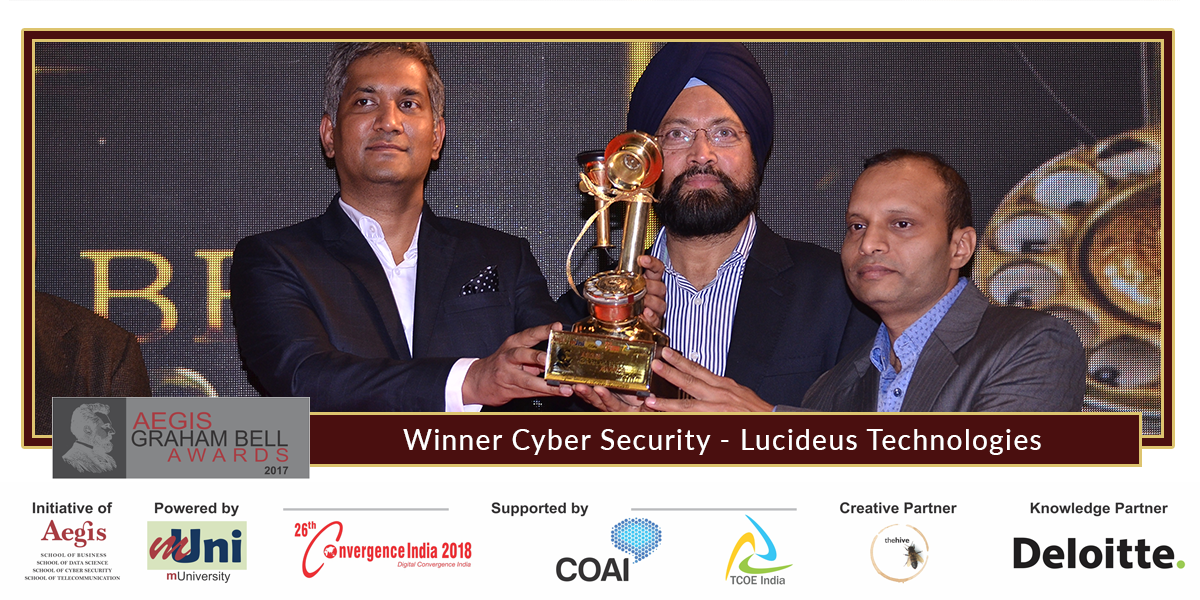 Lucideus Tech Announced as Winner at the 8th edition of ...