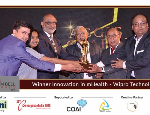 Wipro Technologies present innovation at the Aegis Graham Bell Award Jury Round Day 3