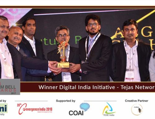 Tejas Network presents innovation at the Aegis Graham Bell Award Jury Round Day 3
