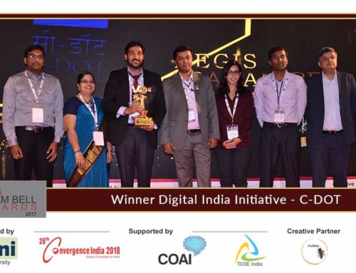 C-DOT presents innovation at the Aegis Graham Bell Award Jury Round Day 3