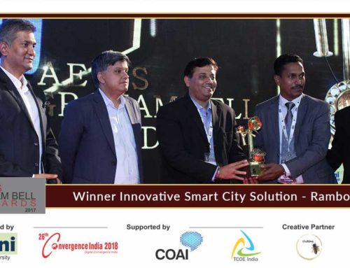 Ramboll India presents its innovation at the Aegis Graham Bell Award Jury Round Day 1