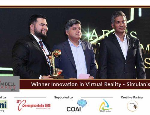 Simulanis presents innovation at the Aegis Graham Bell Award Jury Round Day 4