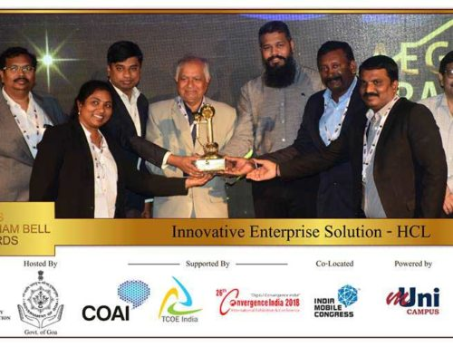 "HCL Technologies secures prestigious Aegis Graham Bell Award for ""Innovative Enterprise Solution"" category"