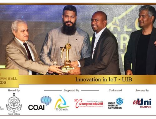 "IoT leader UIB secures prestigious award in ""Innovation in IoT"" category for UnificationEngine® conversational IoT platform."