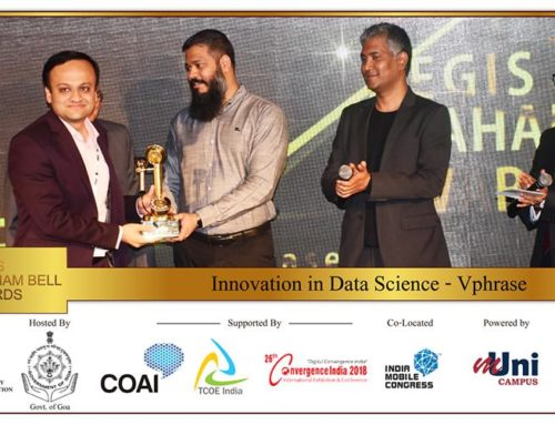"vPhrase secures prestigious Aegis Graham Bell Award for ""Innovation in Data Science"" category"